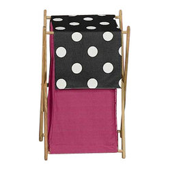 Hot Dot Laundry Hamper