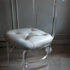 contemporary chairs by The Paris Apartment