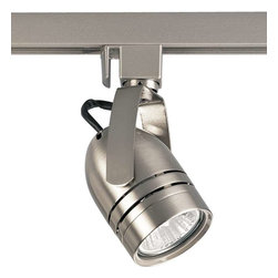 Progress Lighting - Progress Lighting P6112-09 MR-16 line voltage 1 Light Track Head - Progress Lighting P6112-09 MR-16 line voltage 1 Light Track Head In Brushed Nickel