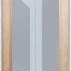 Contemporary Interior Doors by Sans Soucie Art Glass
