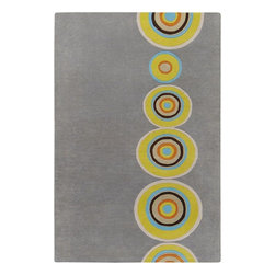 Surya - Surya Dazzle Contemporary Hand Tufted Wool Rug X-118-7356ZAD - These plush hand tufted rugs, of the Dazzle Collection, will add vibrancy, color and make a dramatic statement about your decor. Hand tufted with 100% New Zealand wool, each rug is produced by talented artisans using the finest wool that will liven up any decor.