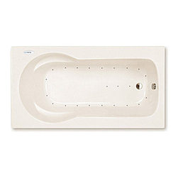 Spa World Corp - Atlantis Tubs 3260ZAR Zepher 32x60x23 Inch Rectangular Air Jetted Bathtub - The Zepher is uniquely designed as a body envelope which soothingly contours your back and arms using the side arm rests. The Zepher accommodates your needs for comfort and durability while still maintaining a practical size, making installation a breeze. Sit back, relax, and embark on the massaging jets, an spa like feeling in your home.