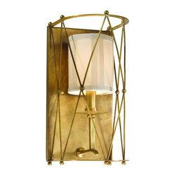 Corbett Lighting - Corbett Lighting 13-11 Argyle 1 Light Wall Sconces in Aged Brass - 1Lt Wall Sconce