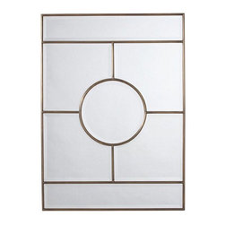 Arteriors Home - Arteriors Home Bronsan Vintage Brass Mirror - Arteriors Home 2198 - Arteriors Home 2198 - Arteriors Home strives to offer unique accessories, furniture and lighting with timeless appeal and a nod to latest trends. Everything starts with the product and it must be unique.