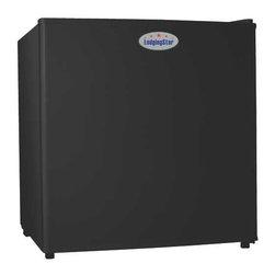 LODGING STAR - Refrigerator, 1.7 Cuft, Black - Features: