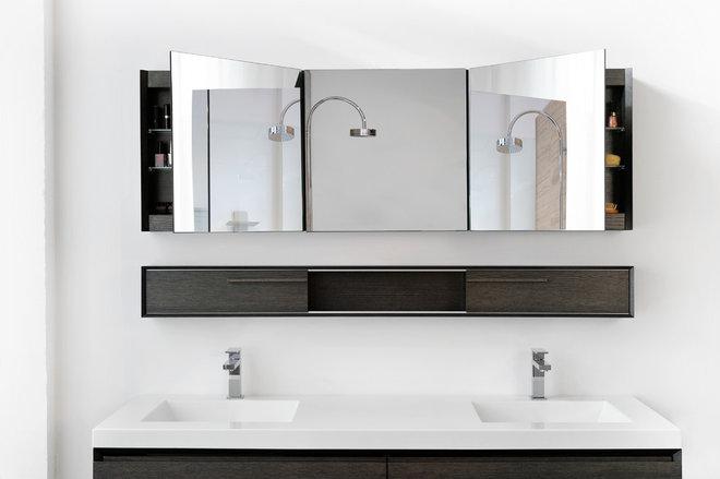 Modern Bathroom Mirrors by WETSTYLE
