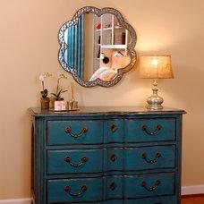 Eclectic Bedroom by Meg Poff Design LLC