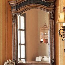 Ambella Etched Brass Mirror - Horchow