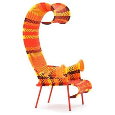 Eclectic Living Room Chairs by Unicahome