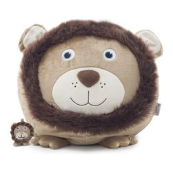 Comfort Research - Comfort Research Bean Bagimals with Lil Buddy, Leo the Lion - Is your little one a budding animal lover? Or maybe they're just the proud owner of a soft spot for all things cute? Our Bagimal Collection is an adorable set of huggable, lovable, and FUNctional animals that are perfect for playtime, nighttime stories or just cuddling up. Matching Lil Buddy pal to play with included. Made with soft, kid-friendly polyester, short fur fabric. Filled with UltimaX Beans that conform to you.  Double stitched and double zippers for added strength and safety. Spot clean.
