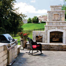 Traditional Patio by General Shale