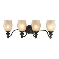 Elk Lighting - Elk Lighting 11653/4 Park Ridge Bathbar - Elk Lighting 11653/4 Park Ridge Bathbar
