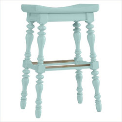 Coastal Living Cottage 5 O'clock Somewhere Bar Stool, Sea Mist - I have a weakness for counter stools. They are so chic and functional, and I want one for every room.