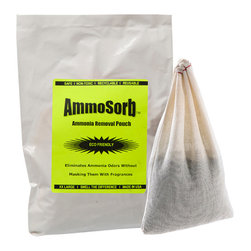 IMTEK | NoOdor - Ammosorb Natural Aquarium Ammonia Absorber Pouch For Fish Tanks: Large - Summary