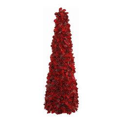Winward Designs - Red Manor Cone Topiary - Winward Designs