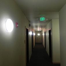 Hallways and Lobby areas