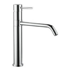 Nameeks - Fima by Nameeks S3227 Single Handle Kitchen Faucet - S3227CR - Shop for Kitchen from Hayneedle.com! The Fima by Nameeks S3227 Single Handle Kitchen Faucet is a luxury solution for your upscale kitchen. The tall functional design of this faucet brings a modern touch to your decor. Its high-quality brass construction comes in your choice of finish. A single hole mount one lever handle and two 14-inch flexible tubes are featured.Additional Information:Spout swivel: 360 degreesSpout reach: 8.3 inchesWeight: 7.5 lbs.Hole Diameter: 1.25 inches Overall Dimensions: 8.3L x 10.6H inchesAbout NameeksFounded with the simple belief that the bath is the defining room of a household Nameeks strives to create a bath that shines with unique and creative qualities. Distributing only the finest European bathroom fixtures Nameeks is a leading designer developer and marketer of innovative home products. In cooperation with top European manufacturers their choice of designs has become extremely diversified. Their experience in the plumbing industry spans 30 years and is now distributing their products throughout the world today. Dedicated to providing new trends and innovative bathroom products they offer their customers with long-term value in every product they purchase. In search of excellence Nameeks will always be interested in two things: the quality of each product and the service provided to each customer.