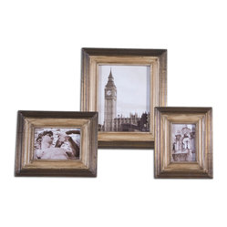 Albion Photo Frames, Set of 3