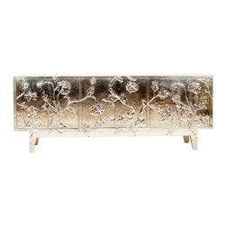 Stephanie Odegard Collection Furniture - Floral Credenza