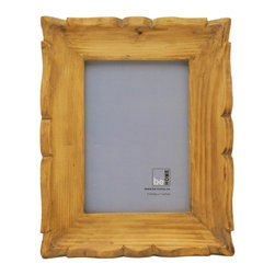 Be Home - Carved Frame Rectangular, 5 X 7 - Display your one-of-a-kind photo or artwork in this handsomely carved one-of-a-kind frame. It's made of wood that's either salvaged, ecologically harvested or logging industry excess — which will make you feel good about having it in your home.