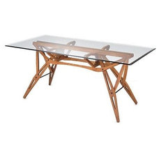 Contemporary Dining Tables by Unicahome