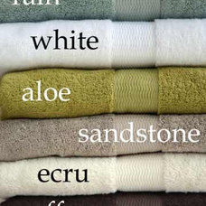 Contemporary Towels by beecrowbee