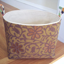 Large Fabric Bin by Avery William Designs
