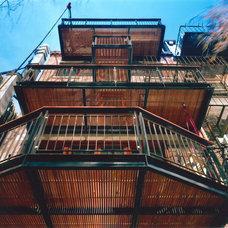 Modern Deck by Flavin Architects