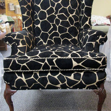 Transitional  by Blawnox Upholstery