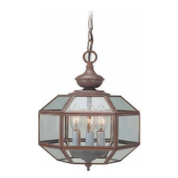 """Volume Lighting - Volume Lighting V5203 3 Light 12"""" Height 1 Tier Chandelier with Clear Bound In S - Three Light 12"""" Height 1 Tier Chandelier with Clear Bound In Solid Brass Glass ShadeGorgeous and ideal, this 3 light chandelier features 1 tier and striking clear glass bound in bold solid brass.Features:"""