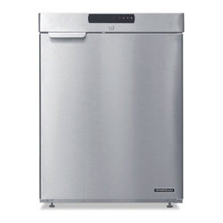 "Hoshizaki - Commercial Series HR24A 23"" 4.0 Cu. ft. Compact Undercounter Refrigerator  Reach - The Hoshizaki HR24A is a Compact Undercounter Reach-In Refrigerator designed to fit in smaller areas This undercounter refrigerator has a stainless steel exterior an energy efficient liner Always know and control the temperature of this refrigerator ..."