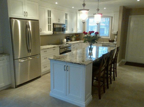 Traditional Kitchen by Benjamin John Ouellette Interior Design