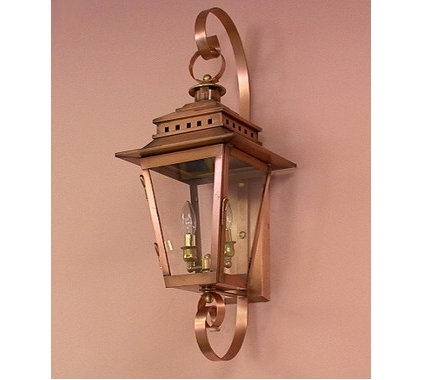 traditional outdoor lighting by Carolina Lanterns