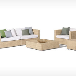 Vertice Rattan Sofa Set - Features: