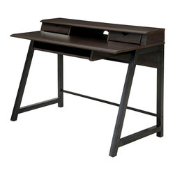 Office Star - Office Star Aurora Mobile File with Powder-Coated Black Accents - Features: