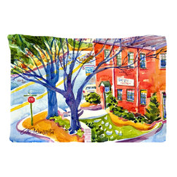 Caroline's Treasures - Harbour Fabric Standard Pillowcase Moisture Wicking Material - Standard White on back with artwork on the front of the pillowcase, 20.5 in w x 30 in. Nice jersy knit Moisture wicking material that wicks the moisture away from the head like a sports fabric (similar to Nike or Under Armour), breathable performance fabric makes for a nice sleeping experience and shows quality.  Wash cold and dry medium.  Fabric even gets softer as you wash it.  No ironing required.