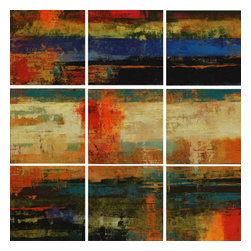 Paragon - A Fine Mess PK/9 - Canvas-Oils - Each product is custom made upon order so there might be small variations from the picture displayed. No two pieces are exactly alike.