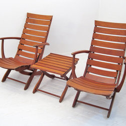 French Deck Chair Set - Michele @ MIX Vintage