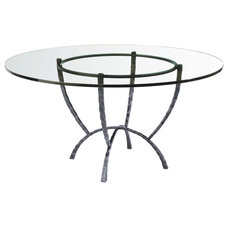 eclectic dining tables by Timeless Wrought Iron