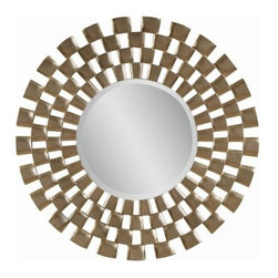 Silver Leaf Finish Decorative Starburst Mirror - 48 diam. in. - About BassettBassett Mirror Company Inc. has been one of America's leading names in home fashion since 1922 when the family business was founded on the eastern slopes of the Blue Ridge Mountains of Virginia. Four generations later Bassett still produces beautiful mirrors fine furniture and framed art pieces that are destined to become heirlooms.