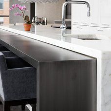 Modern Kitchen Countertops by Aguirre Design