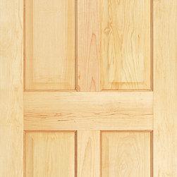 """Authentic Wood Doors - Pine Pine Doors 1-3/8"""" Six Panel"""