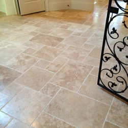Bellaire New Home Showcase 2013 - Mocha Koyna in a Versailles Pattern