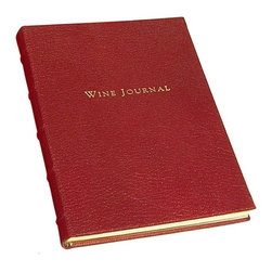Tabbed Wine Journal Brights Leather - Brights Leather Tabbed Wine Journal