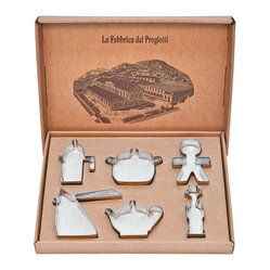 "Alessi ""Progiotti"" Cookie Cutter Set"