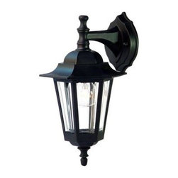 Acclaim Lighting - Outdoor Lighting. Tidewater Collection Wall-Mount 1-Light Outdoor Matte Black Li - Shop for Lighting & Fans at The Home Depot. The Tidewater collection 1-light wall lantern is made of a non-metallic copolymer polyester material. This material will not rust or corrode and resists the harmful effects of UV rays. The acrylic glass is beveled and impact resistant.