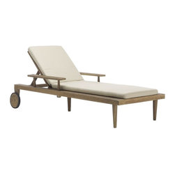 Dexter Outdoor Lounger Cushion - Why not take advantage of some summer sales and update all your lounger cushions? l love the sleek, clean vibe of this set.