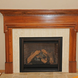 Craftsman fireplaces find unique fireplace designs online for Craftsman gas fireplace