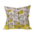 DENY Designs - Rachael Taylor 50s Inspired Throw Pillow, 16x16x4 - Wanna transform a serious room into a fun, inviting space? Looking to complete a room full of solids with a unique print? Need to add a pop of color to your dull, lackluster space? Accomplish all of the above with one simple, yet powerful home accessory we like to call the DENY throw pillow collection!