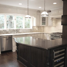 Traditional Kitchen by Silver Leaf Construction & Renovation